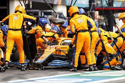 A McLaren üdvözli a kerékcserék lelassítását