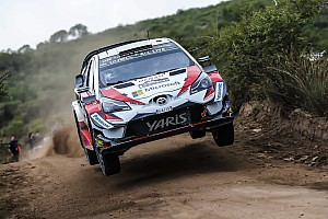 WRC Отчет о секции Тянак возглавил Ралли Аргентина