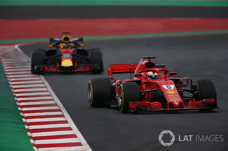 Vettel hints Ferrari rivals' long-run pace deceptive
