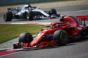 Formule 1 Réactions Räikkönen sur le podium après être revenu de loin