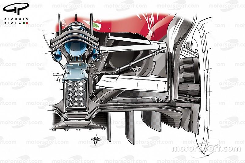 Tech analyse: Red Bull en Ferrari al volop bezig voor 2018