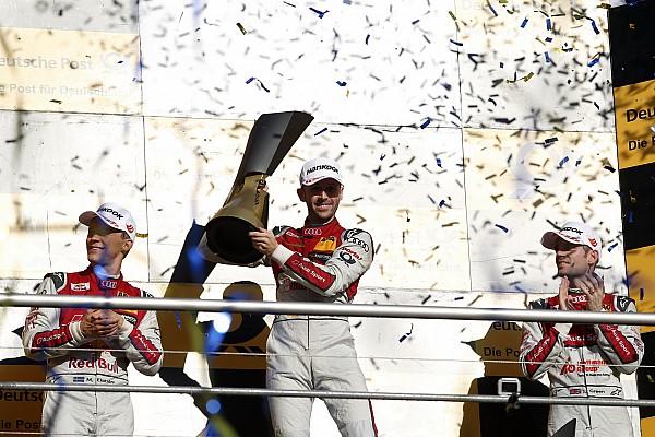 DTM Championnat - Rast champion sur le fil!