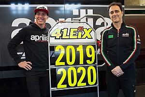 MotoGP Ultime notizie Ufficiale: Aleix Espargaro ha rinnovato per due anni con Aprilia