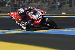 MotoGP Practice report FP2 MotoGP Prancis: Dovizioso ungguli Marquez, Rossi ketiga