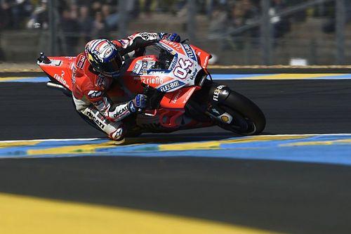 Le Mans MotoGP: Dovizioso beats lap record in FP2