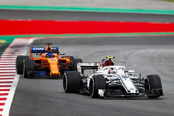 Leclerc says he learned twice as much fighting Alonso