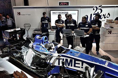 Sauber, quel grand succès le 25ème anniversaire à l'Auto Zürich !