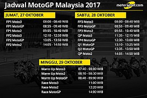 MotoGP Preview Jadwal lengkap MotoGP Malaysia 2017