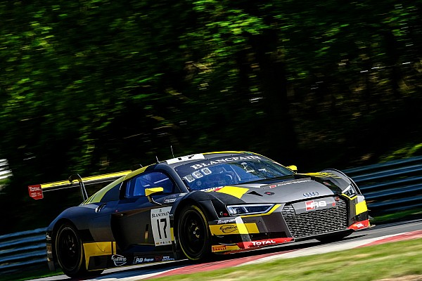 Blancpain Sprint Leonard and Vervisch lead Audi 1-2-3 at Brands Hatch