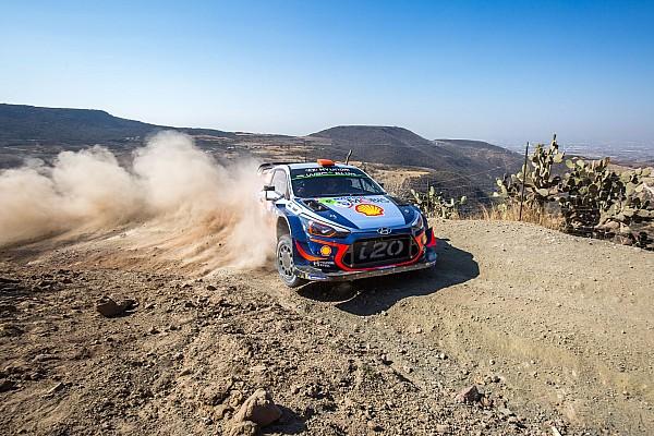 WRC Mexico: Sordo vroege leider, Neuville zevende