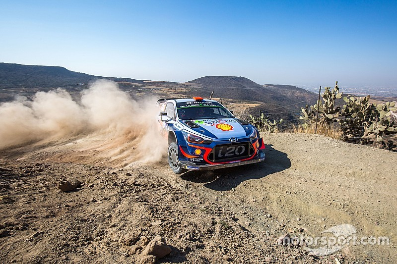 Mexico WRC: Sordo takes early lead, Loeb third