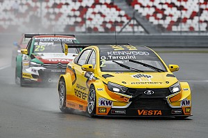 WTCC Race report Moscow WTCC: Tarquini wins, Lada takes 1-2-4 in wet Race 1