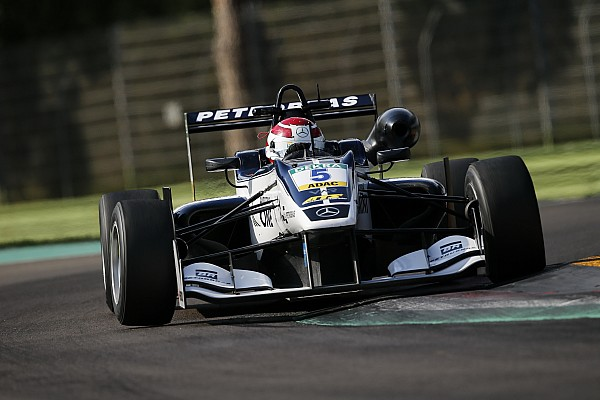 F3 Europe Piquet sticks with Van Amersfoort for second European F3 season