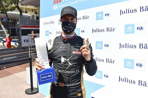 Da Costa logra una ajustada pole para el E-Prix de Mónaco