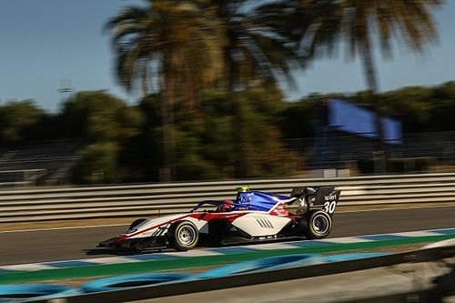 F3: Enzo Fittipaldi fecha testes como terceiro mais rápido em Jerez de La Frontera