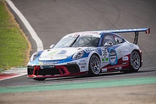 Carrera Cup Italia, Vallelunga: Iaquinta nel terzetto di campioni in gara 2