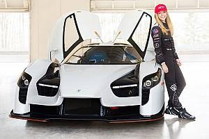 SCG se une con Aurora Straus mientras se prepara para Le Mans