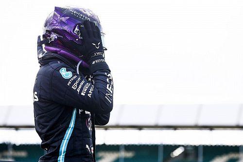 """Hamilton revela """"coração na boca"""" e reza na insana volta final: """"Eu estava rezando para não ter problemas"""""""