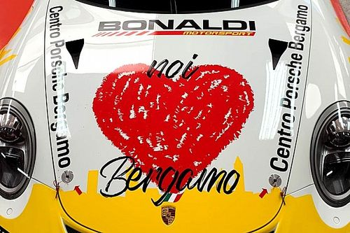 Carrera Cup Italia, Bonaldi Motorsport con Moretti e... Bergamo nel cuore