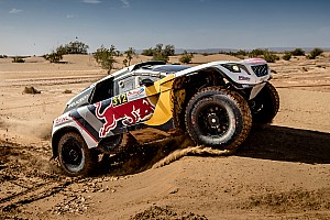 Dakar Testing report Watch Team Peugeot Total put their foot down for 2018 Dakar Rally