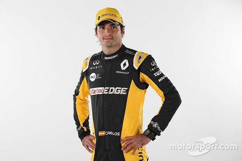 """Sainz encara estreia na Renault como um """"grande desafio"""""""