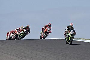 Superbike-WM Rennbericht Superbike-WM Phillip Island: 0,025 Sekunden entscheiden 2. Rennen