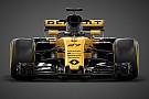 Formula 1 Renault'nun 2017 F1 aracı R.S.17 görücüye çıktı!