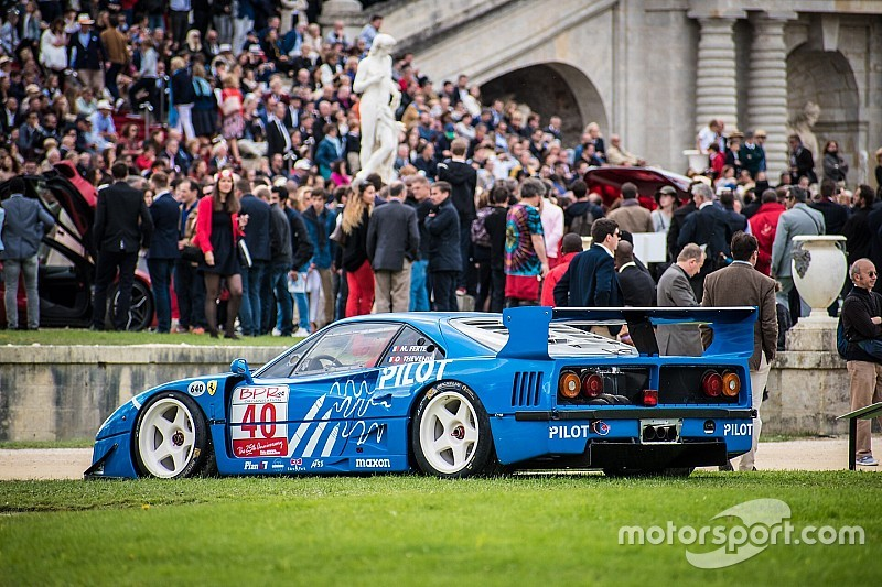 Ferrari's stelen de show tijdens evenement Chantilly Arts and Elegance Richard Mille