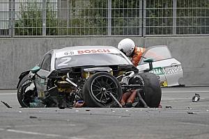 دي تي أم أخبار عاجلة دي تي أم: بافيت يعترف بأنه محظوظ لعدم تعرضه لإصابة خطيرة في سباق نوريسرينغ
