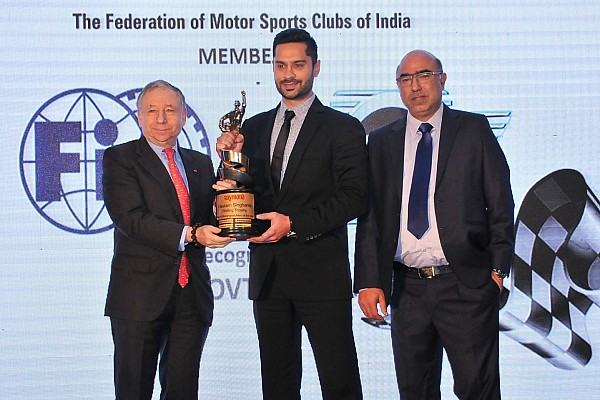 General Gill named Motorsports Person of the Year in FMSCI award