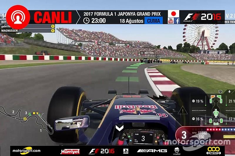 2017 Japonya GP Sanal Turnuva: Canlı Yayın