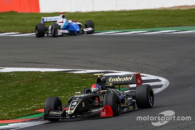 Fittipaldi logra el pleno ganando también la segunda carrera en Silverstone