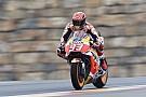 Aragon MotoGP: Marquez tops damp FP1, Rossi P18