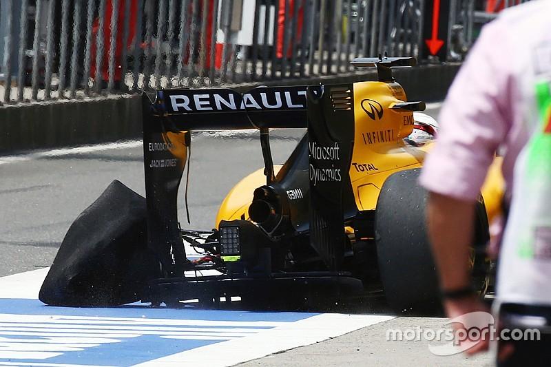 Rosberg snelste in door bandenproblemen gedomineerde eerste training