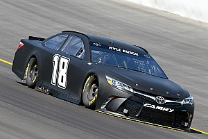 NASCAR Cup Testing report Cup teams test 2017 rules package on newly reconfigured Kentucky Speedway
