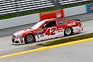 Larson leads the way in final practice