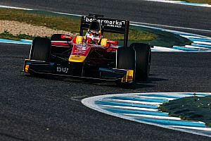 FIA F2 Testing report Nato completes Racing Engineering sweep of Jerez test