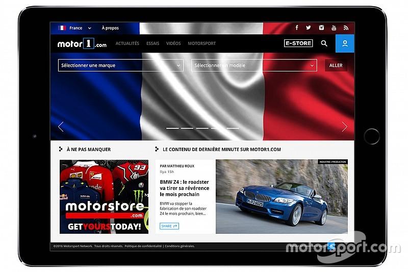 Motor1.com expandiert in Europa: Start von Motor1.com Frankreich