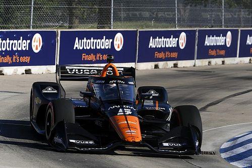 O'Ward en pole devant Rossi et Grosjean à Detroit