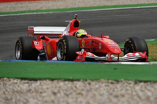 Vettel quiso comprar un Ferrari F2004, pero era muy caro