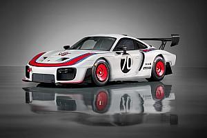 In beeld: Nieuwe Porsche 935 is eerbetoon aan 'Moby Dick'