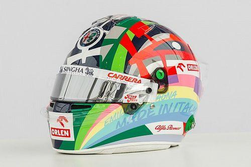 Джовинацци показал шлем для домашнего Гран При
