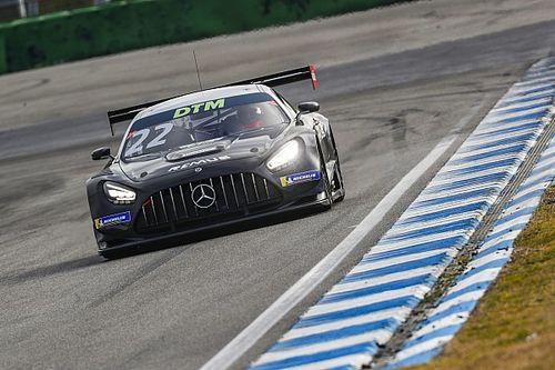 Mercedes bezet volledige top-zes na eerste DTM-test