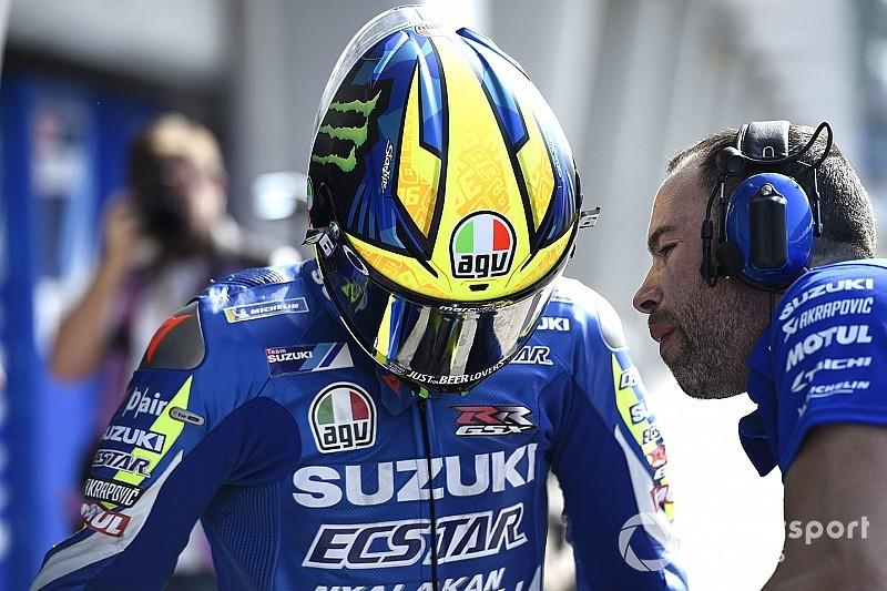 Les casques des pilotes MotoGP au test de Sepang