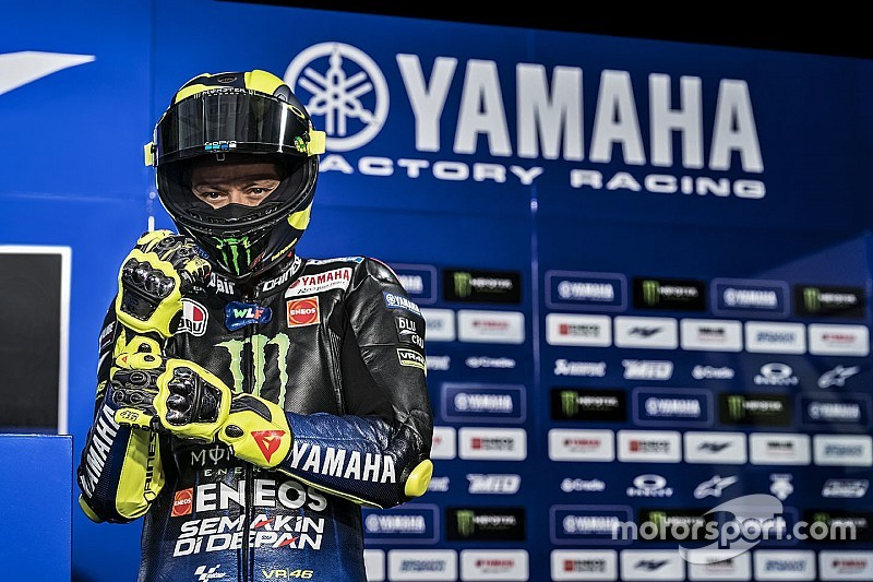 Rossi dice, Yamaha hace