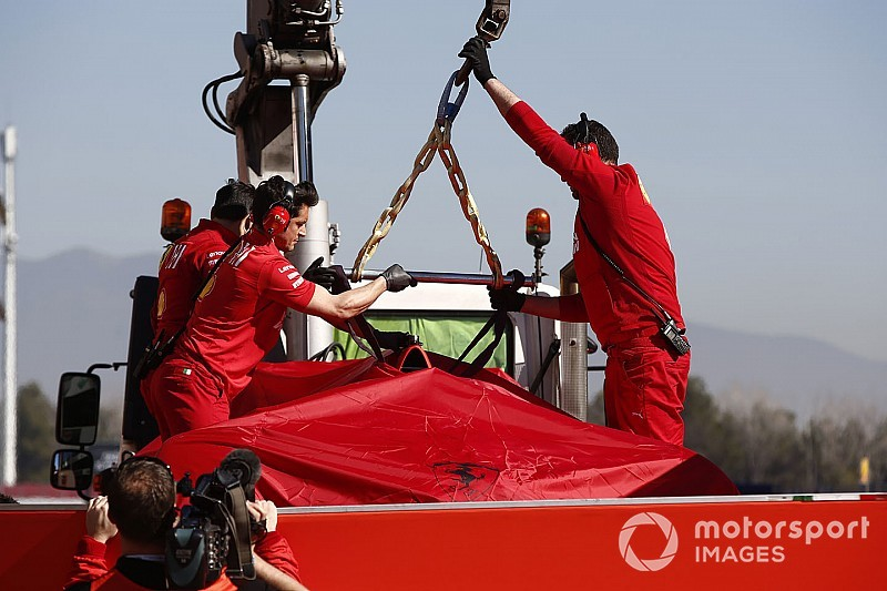 Ferrari changes testing plan after Vettel crash