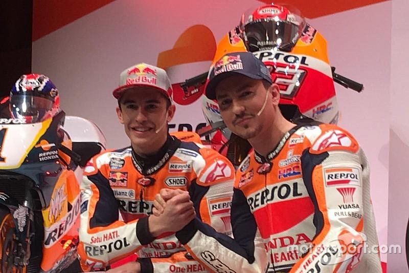 Лоренсо порівняв Маркеса з Россі та згадав дебют у MotoGP у 2008-му