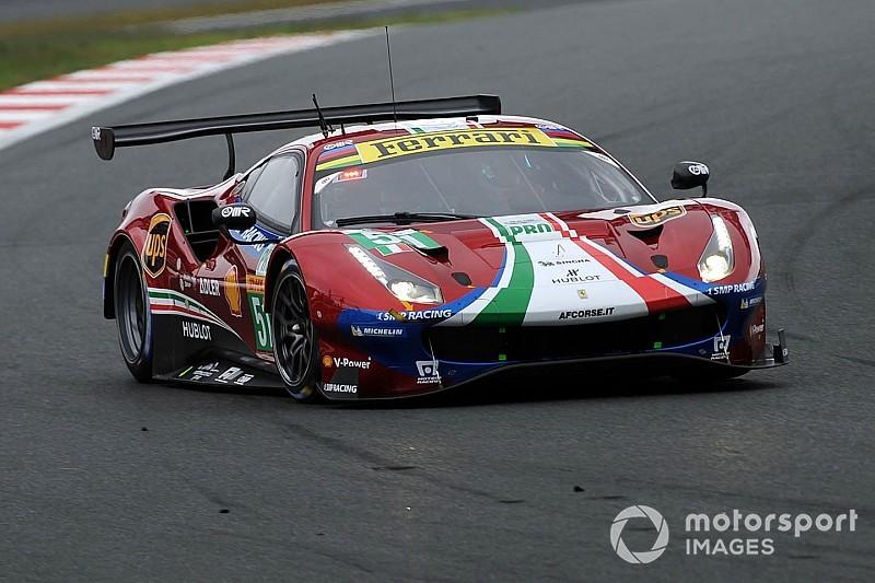 6 Ore di Shanghai: il BoP penalizza le Ferrari 488 GTE e avvantaggia Aston Martin