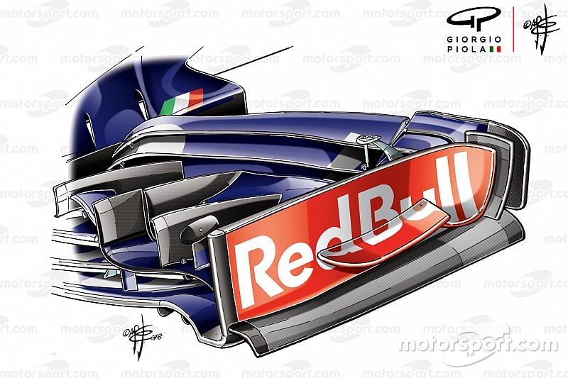 Tech: Toro Rosso blijft nieuwe updates meebrengen