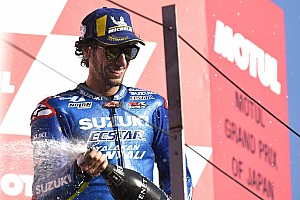 Rins: Suzuki selangkah menuju kemenangan